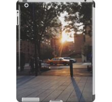Sunrise drive by iPad Case/Skin