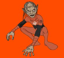 Orange Lantern Gollum by Petertwnsnd