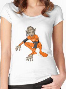 Orange Lantern Gollum Women's Fitted Scoop T-Shirt