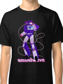 Soundwave Aesthetic No Background Classic T-Shirt
