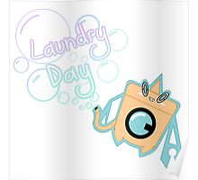 Laundry Day with Rotom Wash Poster