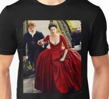 Outlander Season 2 - Jamie and Claire - The Red Dress Unisex T-Shirt