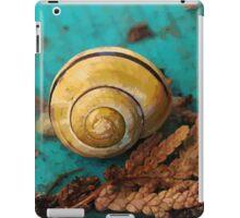 Yellow Snail House iPad Case/Skin