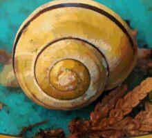 Yellow Snail House VRS2 Sticker