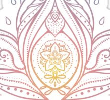Lotus Mandala Illustration Sticker