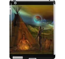 legends of the sky people  iPad Case/Skin