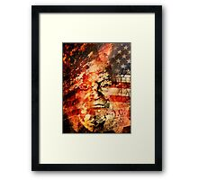 Rush Limbaugh: Pundit Framed Print