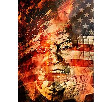 Rush Limbaugh: Pundit Photographic Print