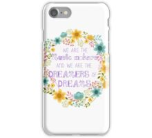 Dreamers of Dreams  iPhone Case/Skin
