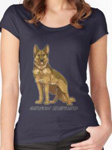 Shepherd Love -Tan Women's Fitted Scoop T-Shirt