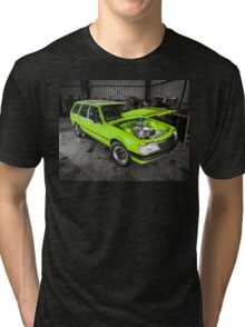 Pete's LS1-powered VH Holden Commodore Tri-blend T-Shirt