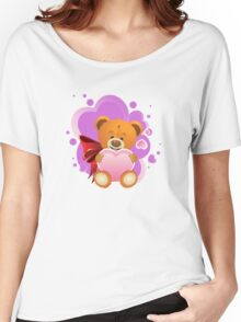 Teddy Bear with Heart 2 Women's Relaxed Fit T-Shirt
