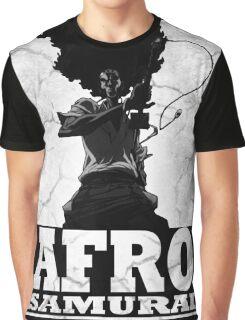 Afro Hair Samurai  Graphic T-Shirt