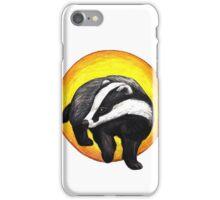 Hufflepuff Badger iPhone Case/Skin