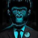 Monkey Suit II by Vin  Zzep