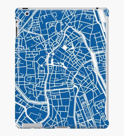 Ghent Map - Blue iPad Case/Skin