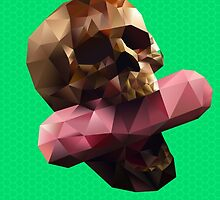 Poison Polygon Lime by Kassidy201