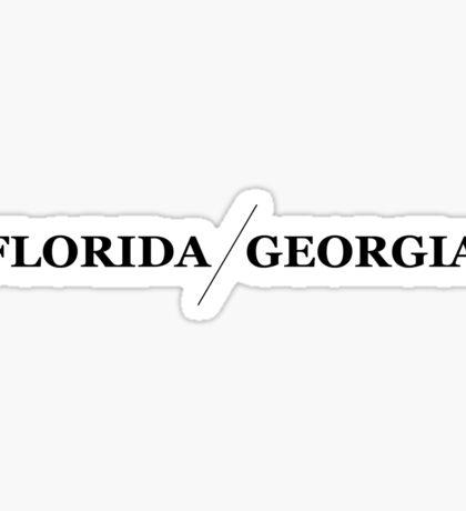florida georgia line Sticker