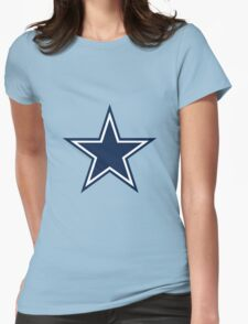 Blue Star Womens Fitted T-Shirt