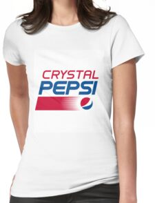Crystal Pepsi Womens Fitted T-Shirt