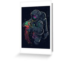 Space Fun Greeting Card