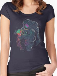 Space Fun Women's Fitted Scoop T-Shirt