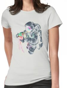 Space Fun Womens Fitted T-Shirt