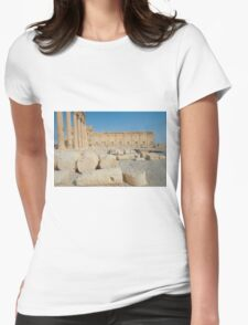 Ruins of Palmira Womens Fitted T-Shirt