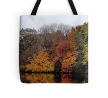 Autumn on the River Tote Bag