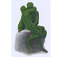 The Kiss Topiary 2012 Photographic Print
