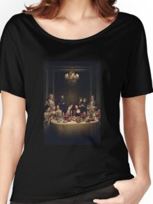 Outlander - Season 2 - The Dinner Party - Jamie & Claire Women's Relaxed Fit T-Shirt