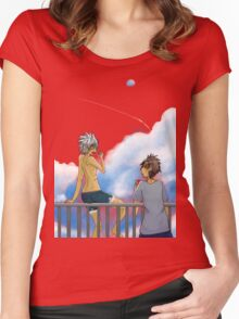 Summer Clouds Women's Fitted Scoop T-Shirt