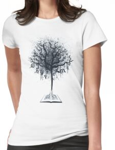 Book of Life Tree Womens Fitted T-Shirt