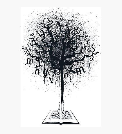 Book of Life Tree Photographic Print