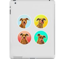 Four Dogo (Staffordshire Puppies) iPad Case/Skin