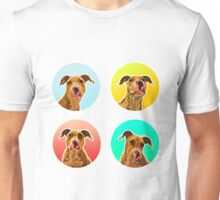 Four Dogo (Staffordshire Puppies) Unisex T-Shirt