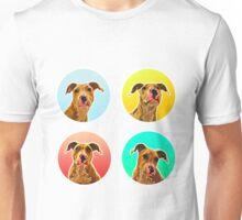 Four Doggo (Staffordshire Puppies) Unisex T-Shirt