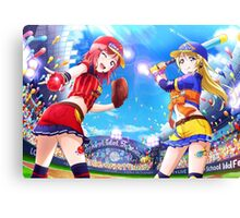 Baseball Eli Ayase (Idolized) Canvas Print
