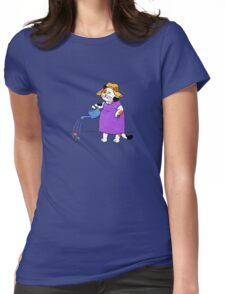 Old Garden Cat Womens Fitted T-Shirt