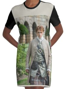 Jamie Fraser - Outlander Season 2 - Palace of Versailles  Graphic T-Shirt Dress