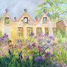 Columbine Meadow Rue at East Riddlesden Hall by Susan Duffey