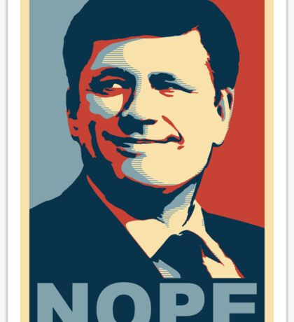 Stephen Harper Nope Sticker