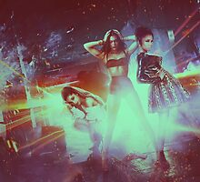 Ariana, Jessie, Nicki Bang Bang Apparel, Phone, iPad & Poster Design by Benikari47