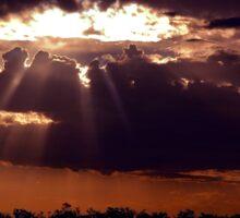 Hole In The Sky  © Vicki Ferrari Sticker