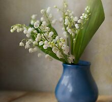 Still life with  fresh flowers by JBlaminsky