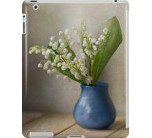 Still life with  fresh flowers iPad Case/Skin