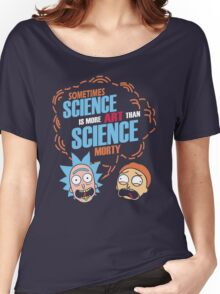 Science Morty Women's Relaxed Fit T-Shirt