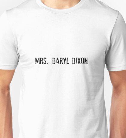 Mrs. Daryl Dixon - The Walking Dead Unisex T-Shirt