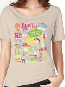 Rick and Morty Women's Relaxed Fit T-Shirt