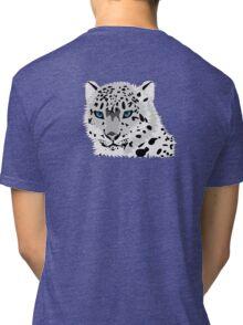 Snow Leopard Tri-blend T-Shirt